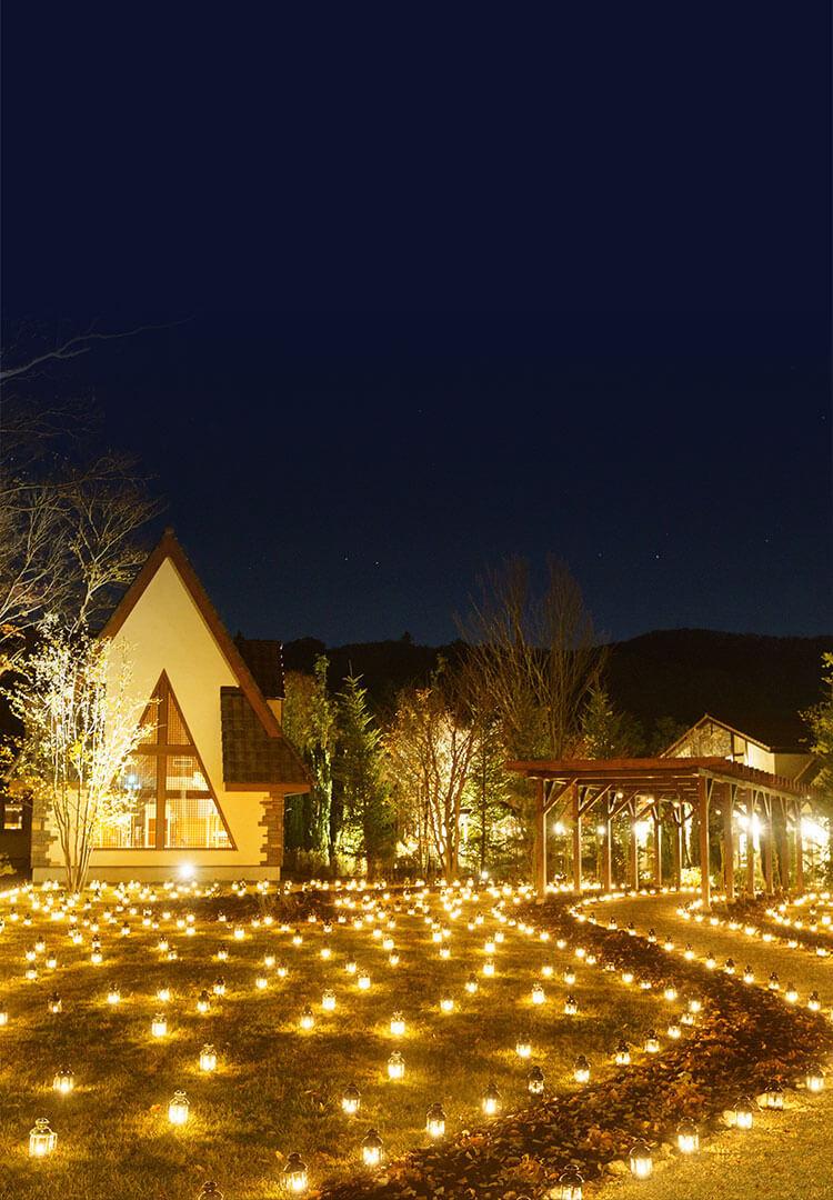 ルグラン軽井沢ホテル&リゾート * 南軽井沢・キャンドルナイト♪_f0236260_21265437.jpg