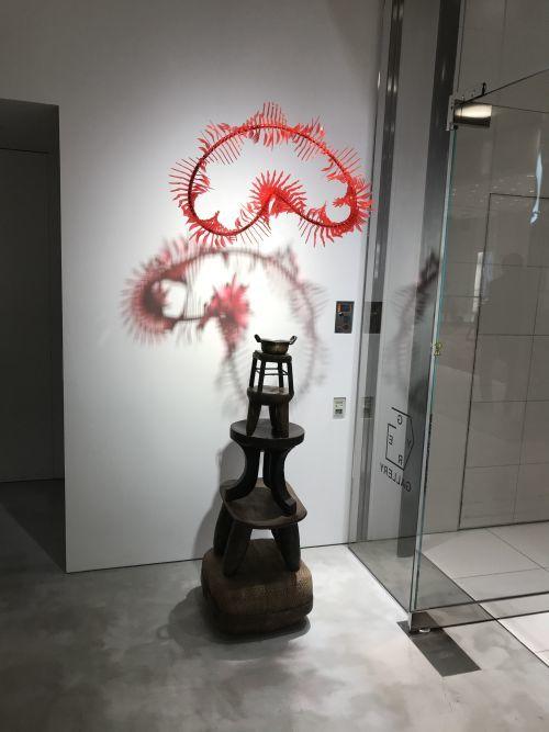 チェ・ジェンファ個展「花ひらく森」_a0163788_18043048.jpg