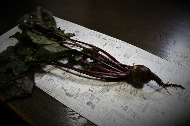 北摂の家庭菜園で収穫する「ビーツ」・・♬_f0229190_21264601.jpg