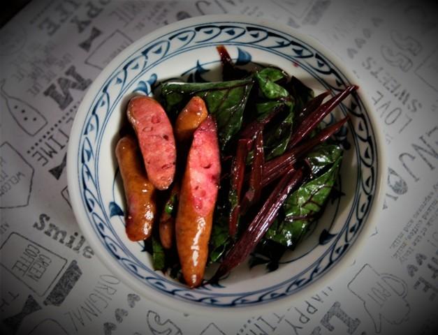 北摂の家庭菜園で収穫する「ビーツ」・・♬_f0229190_21403872.jpg