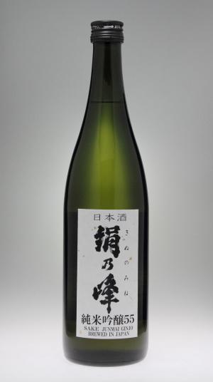 絹乃峰 純米吟醸原酒55[赤名酒造]_f0138598_00200879.jpg