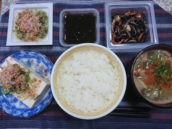 12/16 納豆丼&自家製豚汁セット@自宅_b0042308_10361346.jpg