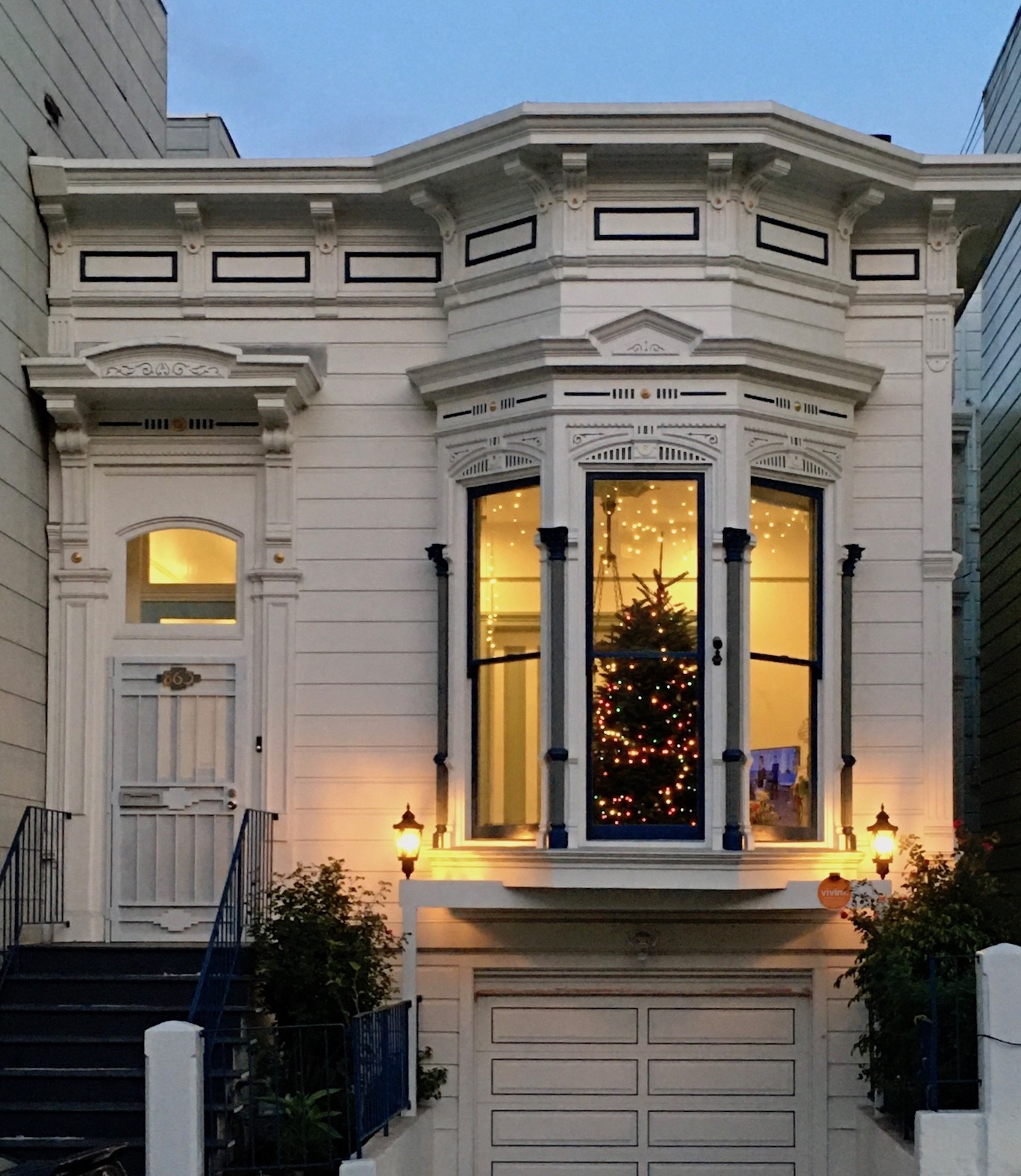 夕暮れ時の散歩道/ My Evening Walk In San Francisco_e0310424_15365940.jpg