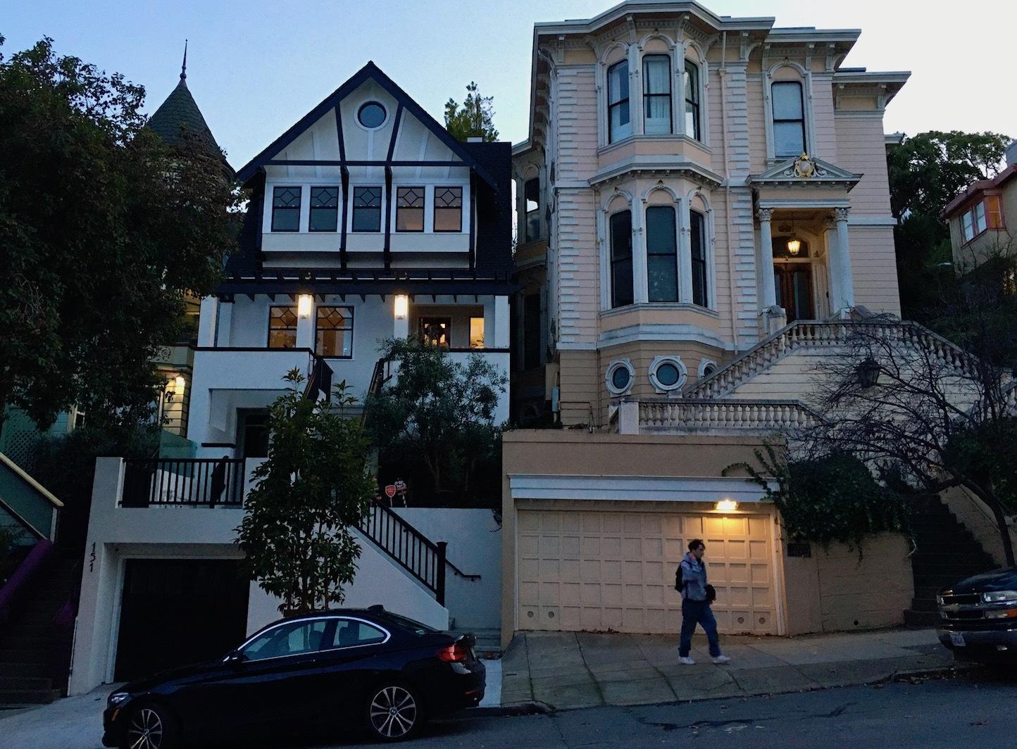 夕暮れ時の散歩道/ My Evening Walk In San Francisco_e0310424_15404608.jpg