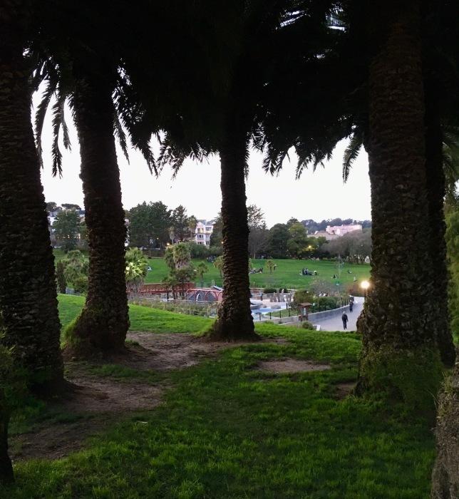 夕暮れ時の散歩道/ My Evening Walk In San Francisco_e0310424_15410562.jpg