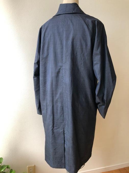 着物着物リメイク・ 大島のお着物から紳士コート_d0127925_09572949.jpg