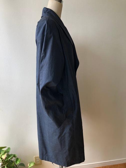 着物着物リメイク・ 大島のお着物から紳士コート_d0127925_09573792.jpg
