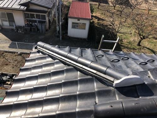 笛吹市 銀黒の屋根_b0242734_22504140.jpeg