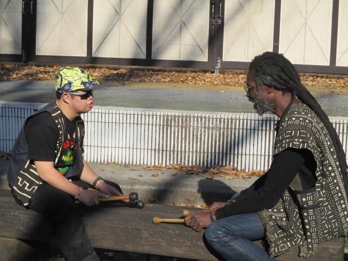 CD「Ousumane Diedhiou」のプロモーションビデオ撮影_b0135942_11303034.jpg