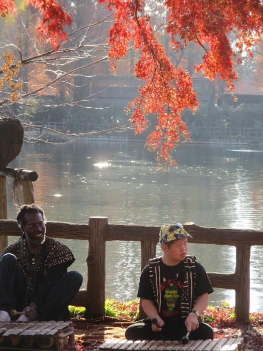 CD「Ousumane Diedhiou」のプロモーションビデオ撮影_b0135942_11320090.jpg