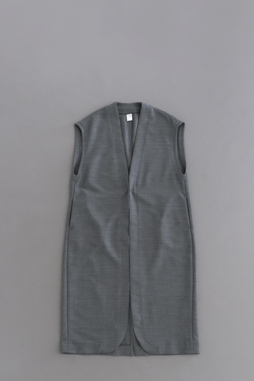 NO CONTROL AIR 2Way Stretch Long Vest (Grey Top)_d0120442_18494415.jpg