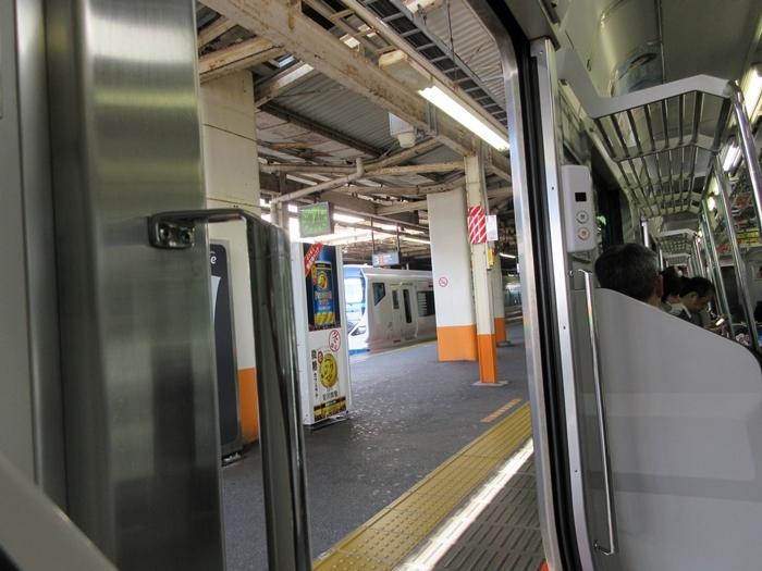 【帰りに乗った東海道線が今日のユーチューブにアップされていた件w】E257試運転_b0009849_20001605.jpg