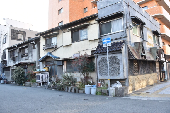 姫路の白線と花街_f0347663_16405147.jpg