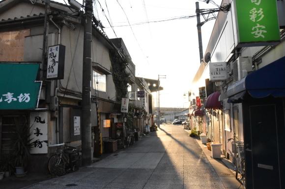 姫路の白線と花街_f0347663_16421501.jpg