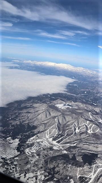 全日空からの絶景、大阪城と雲海、大阪の街が蜃気楼となった・・・・絶景かな大阪の街、ANAからの絶景写真_d0181492_21460572.jpg