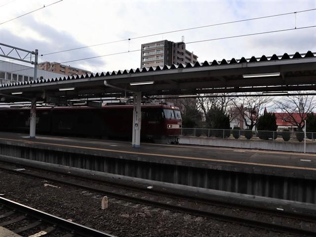 藤田八束の鉄道写真@JR名取駅からの写真を撮りました。冬の寒い中貨物列車は走ります。_d0181492_23091614.jpg