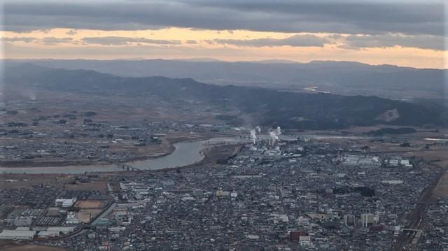 藤田八束の鉄道写真@JR名取駅からの写真を撮りました。冬の寒い中貨物列車は走ります。_d0181492_23111146.jpg