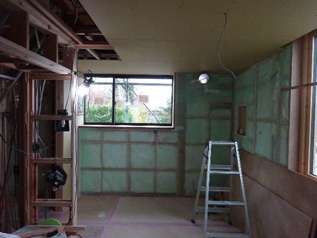 仙北町の家 大工工事が進行中です!_f0105112_04580961.jpg
