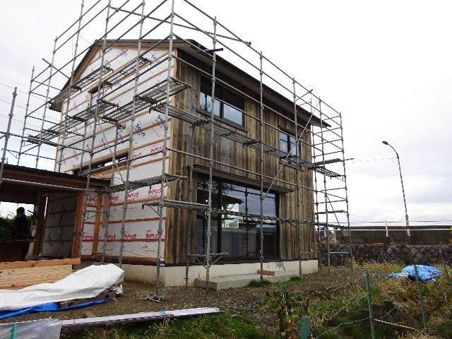 仙北町の家 大工工事が進行中です!_f0105112_05101770.jpg