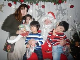 サンタさんが来ました!!_f0153418_11275470.jpg