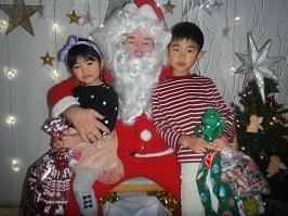 サンタさんが来ました!!_f0153418_11280890.jpg