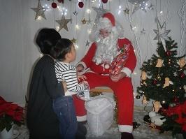 サンタさんが来ました!!_f0153418_11284218.jpg