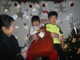サンタさんが来ました!!_f0153418_11285400.jpg
