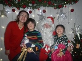サンタさんが来ました!!_f0153418_11290641.jpg
