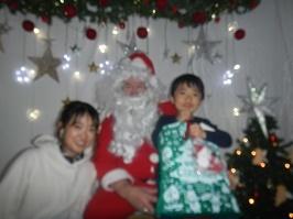 サンタさんが来ました!!_f0153418_11291741.jpg