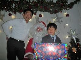 サンタさんが来ました!!_f0153418_11301143.jpg