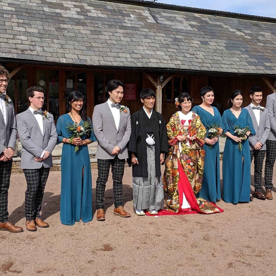 イギリスの古城、マナーハウスでの結婚式_e0151619_09295744.jpg