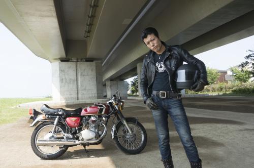 """Johnny"" Daigo Yamashita & HONDA DREAM CB350 SENIOR(2019.07.30/EBINA)_f0203027_12023039.jpg"