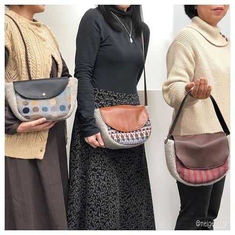 【ヴォーグ学園横浜校バッグ講座】生徒さんの素敵なバッグが完成♪_f0023333_22201026.jpg