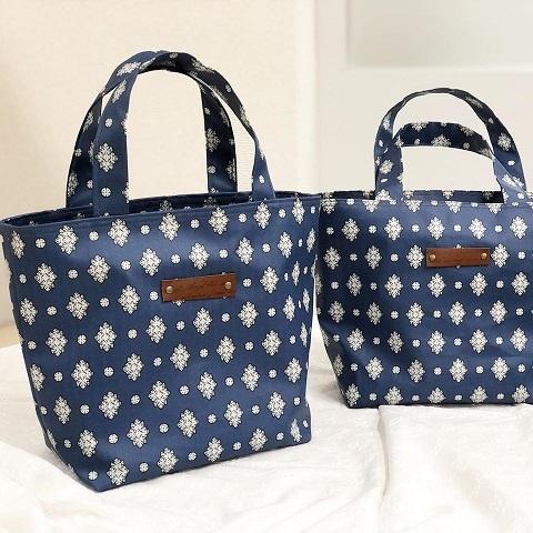 【ヴォーグ学園横浜校バッグ講座】生徒さんの素敵なバッグが完成♪_f0023333_22201129.jpg