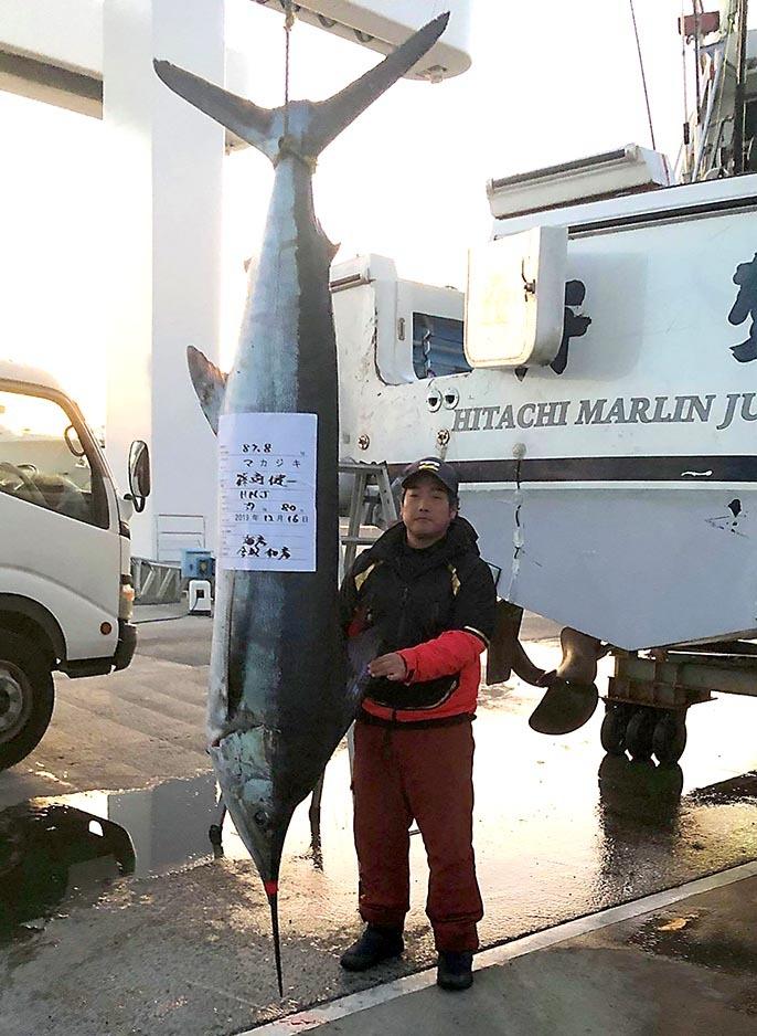 U艇さん87.8キロの大物_f0009039_09460365.jpg