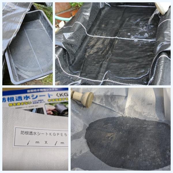 塩ビ管水耕栽培装置の手直し_c0063348_07190958.jpg
