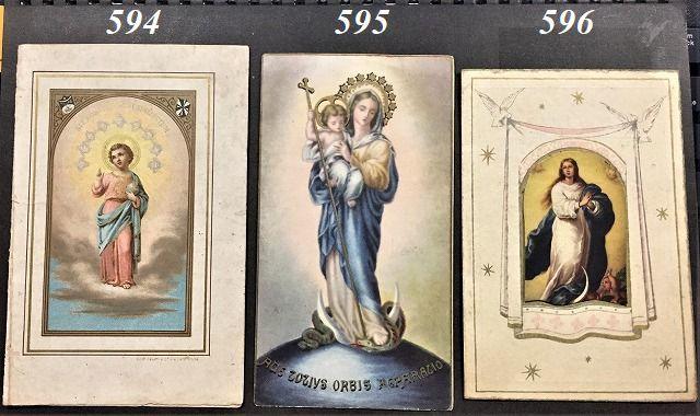 ホーリーカード(聖人のカード、エスタンパ)_f0112550_06290942.jpg