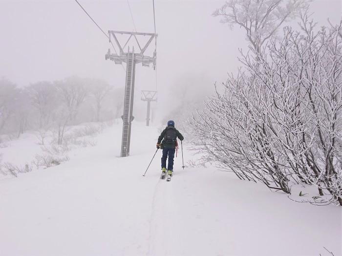 月山・姥ヶ岳(リフト上駅まで)~ 2019年12月15日_f0170180_21404662.jpg