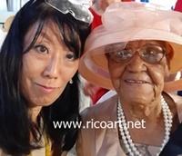100歳のお誕生日会 in ネグリル_e0139395_07512499.jpg