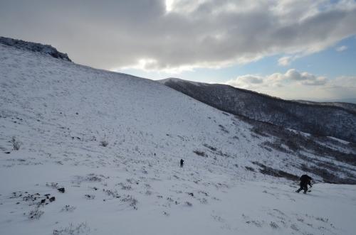 樽前山(北山)と苔の洞門、2019.12.15ー同行者からの写真ー_f0138096_23422197.jpg