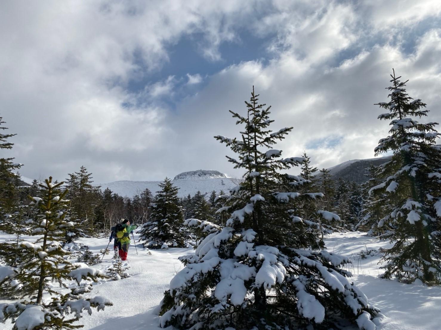 樽前山(北山)と苔の洞門、2019.12.15ー同行者からの写真ー_f0138096_23450495.jpg