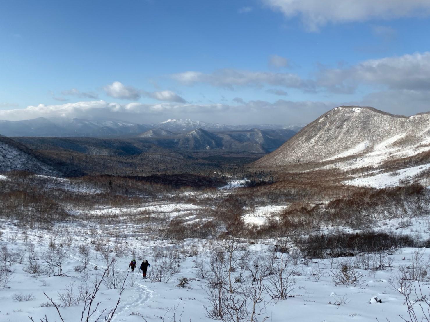 樽前山(北山)と苔の洞門、2019.12.15ー同行者からの写真ー_f0138096_23450700.jpg