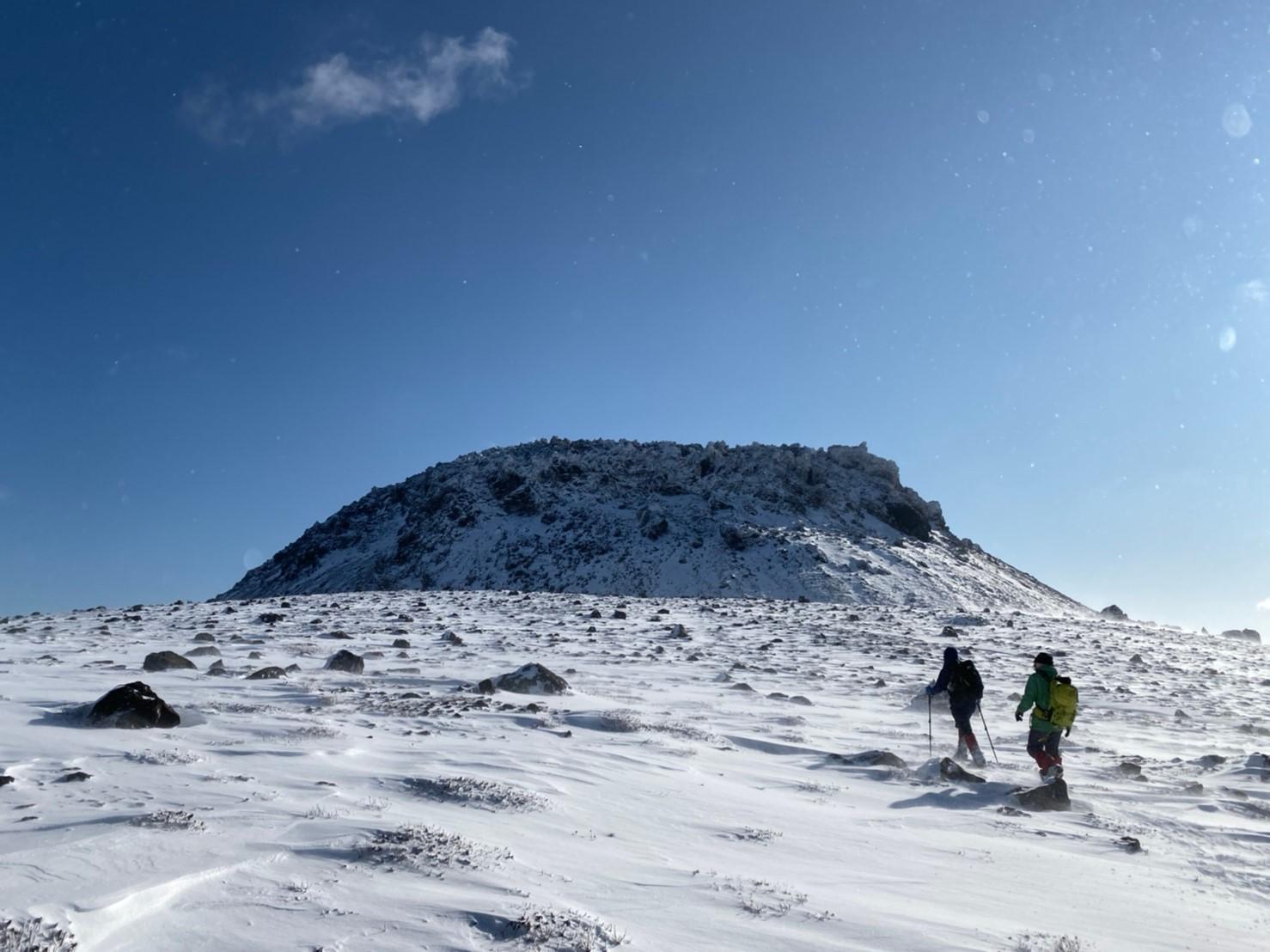 樽前山(北山)と苔の洞門、2019.12.15ー同行者からの写真ー_f0138096_23453674.jpg