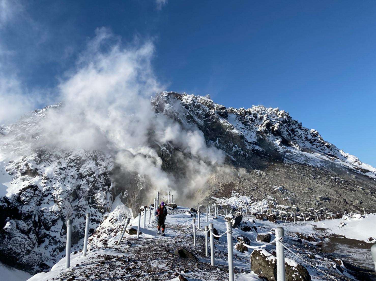 樽前山(北山)と苔の洞門、2019.12.15ー同行者からの写真ー_f0138096_23454724.jpg