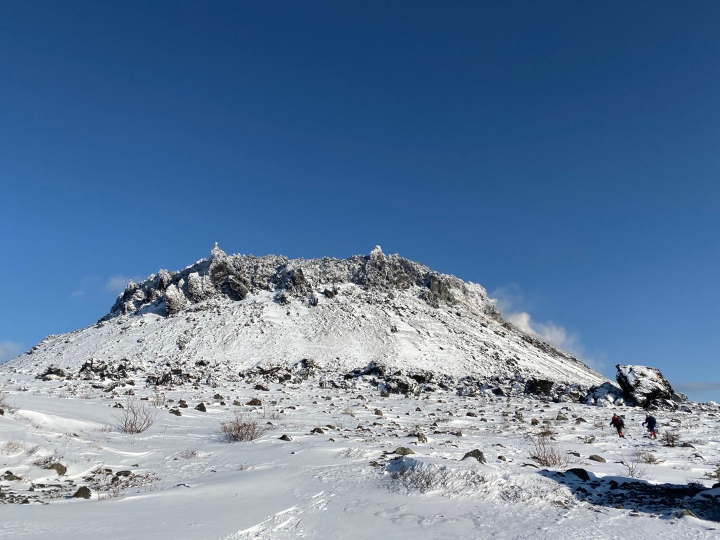 樽前山(北山)と苔の洞門、2019.12.15ー同行者からの写真ー_f0138096_23455147.jpg
