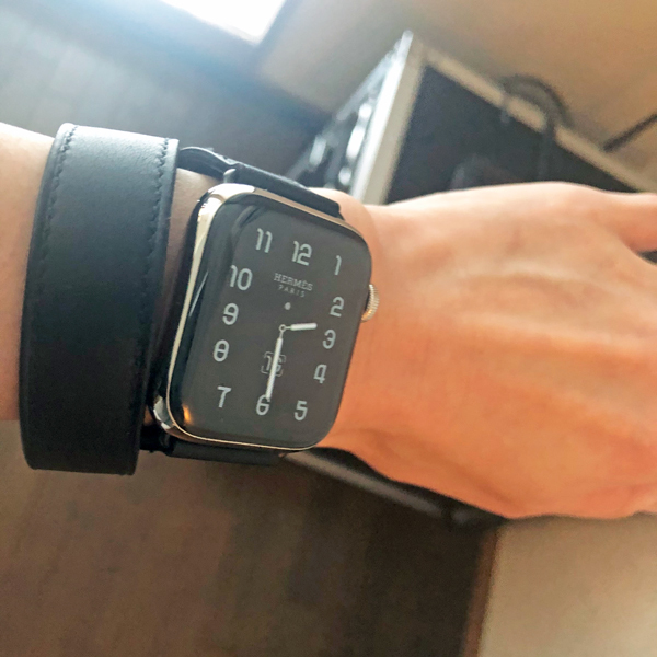 やっと届いた!Apple Watch x Hermes_c0134902_00005185.jpg