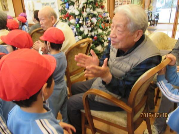 ケアハウス 美木多幼稚園クリスマス交流会_a0166025_13070902.jpg