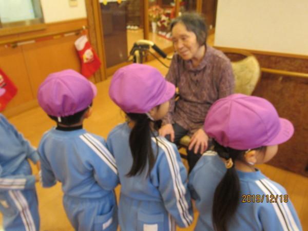 ケアハウス 美木多幼稚園クリスマス交流会_a0166025_13113484.jpg