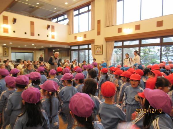 ケアハウス 美木多幼稚園クリスマス交流会_a0166025_13191825.jpg