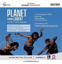 インドネシアの演劇:\'Planet-Sebuah Lament\' 演出:Garin Nugroho (木)出演:Riyanto 他)_a0054926_20395849.jpg